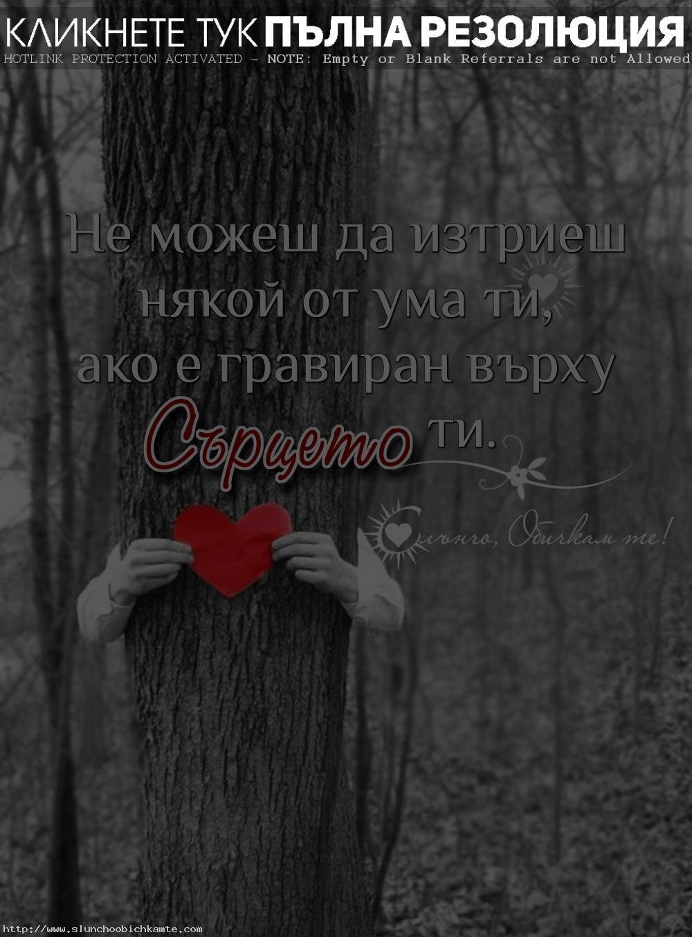 Не можеш да изтриеш някой от ума ти, ако е гравиран върху сърцето ти - Любов, любовни мисли, сърце, любовни статуси, любовни цитати, любовни фрази, мисли за сърцето, мисли за любовта, обичам те, истинска любов, завинаги заедно, завинаги до теб, слънчо обичкам те