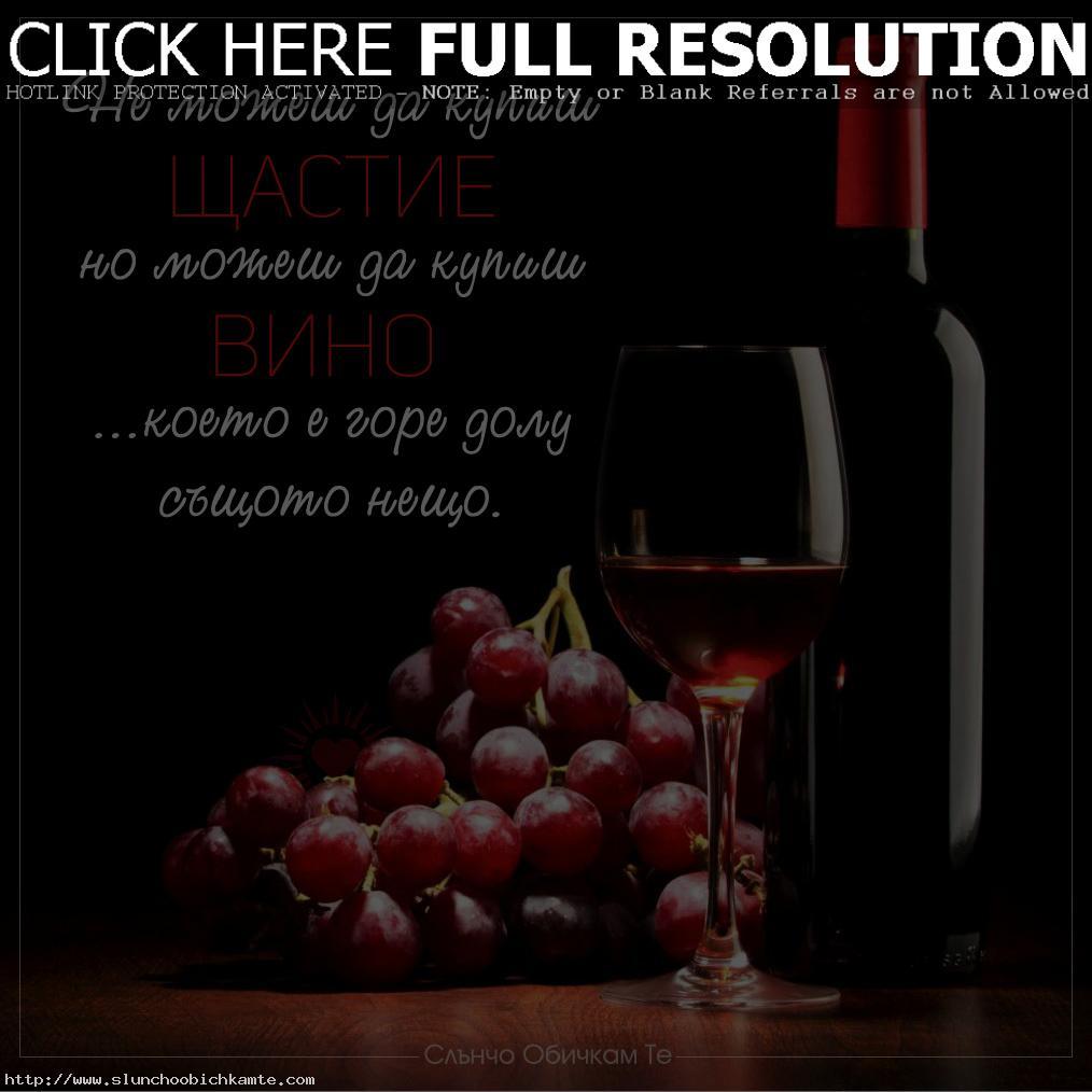 Честит Трифон Зарезан и наздраве, цитати за виното, празник на виното, пожелания за трифон зарезан, Не можеш да купиш щастие, но можеш да купиш вино